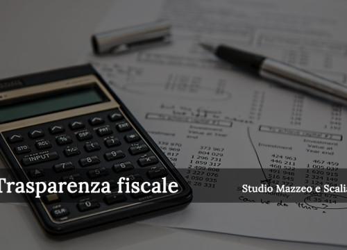 Regime di trasparenza fiscale nelle società di capitali