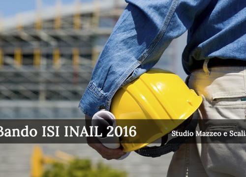 Bando ISI INAIL 2016