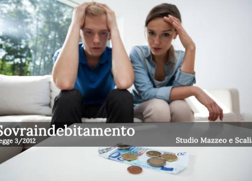 """Sovraindebitamento: la Legge 3/2012 detta """"Legge salva suicidi"""""""