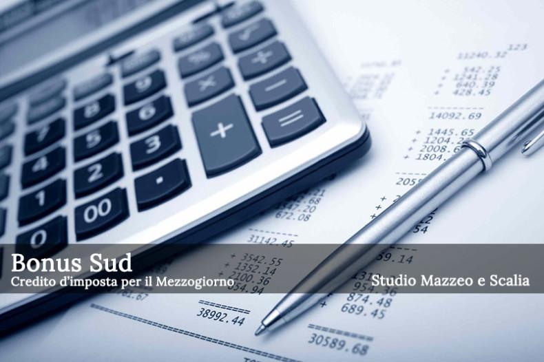 Bonus Sud: credito d'imposta per il Mezzogiorno