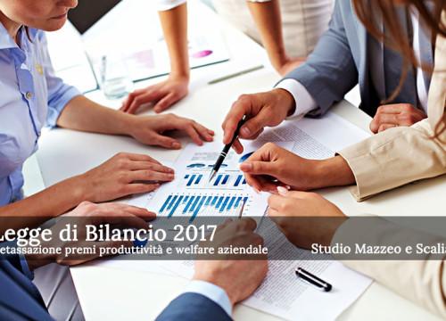Detassazione premi produttività 2017 e welfare aziendale