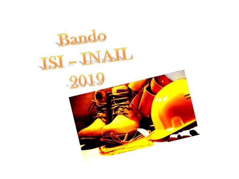 Bando ISI INAIL 2018/2019