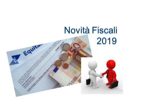 NOVITA' FISCALI 2019 (4° PARTE) – Pace Fiscale