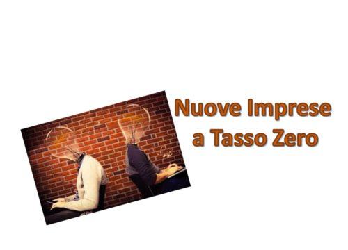 """""""Nuove Imprese a Tasso Zero"""" strumento di Invitalia per Giovani e Donne che vogliono fare impresa"""