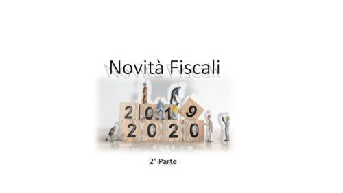 I NUOVI CRITERI ACCESSO AL REGIME FORFETTARIO, CREDITO D'IMPOSTA R&S E FORMAZIONE 4.0