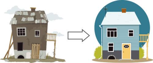 Trattamento IVA dei lavori edilizi sugli immobili abitativi